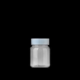FR-035_PET_68ml 원형 투명 제약용기160원+일반캡80원(후가공별도)