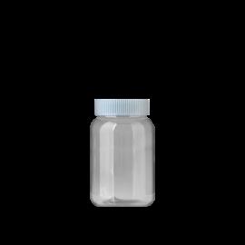 FR-035_PET_137ml 원형 투명 제약용기200원+일반캡80원(후가공별도)