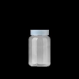 FR-035_PET_154ml 원형 투명 제약용기230원+일반캡80원(후가공별도)