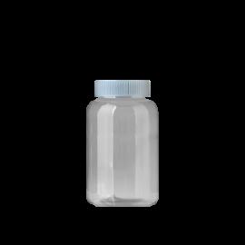 FR-035_PET_205ml 원형 투명 제약용기250원+일반캡80원(후가공별도)