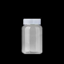 FR-035_PET_240ml 원형 투명 제약용기250원+일반캡100원(후가공별도)